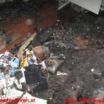 Zimmerbrand durch defekten Fernseher