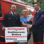Gewinnspiel der Stadtfeuerwehr Bleiburg