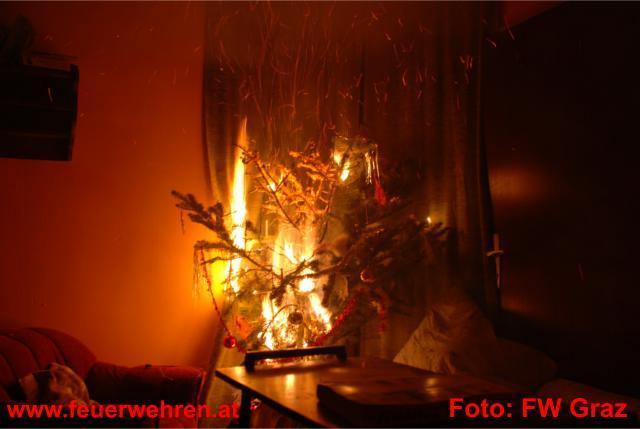 Brandgefahren in der Adventzeit