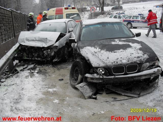 Verkehrsunfall auf der B320