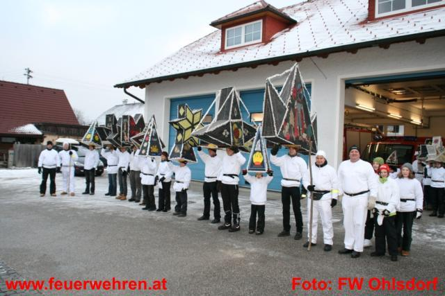 Glöcklerlauf 2010 mit Unterstützung der Feuerwehr Ohlsdorf