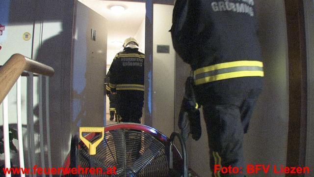 Nächtlicher Wohnungsbrand in Gröbming