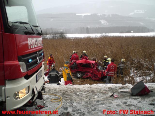 Tödlicher Verkehrsunfall auf Ennstalbundesstraße