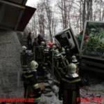 Schwerer Lkw Unfall in Ohlsdorf
