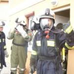 Wohnhausbrand forderte mehrere Atemschutztrupps