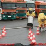 Gefahrgutunfall in Wiesen