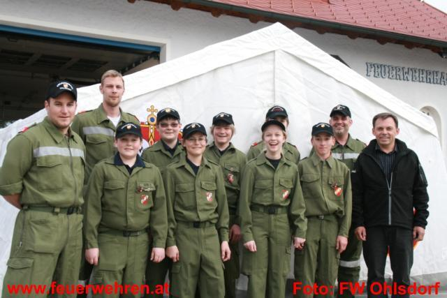 Raika Ohlsdorf unterstützt die Feuerwehrjugend