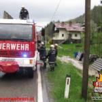 Unwetter über Bezirk Gmunden