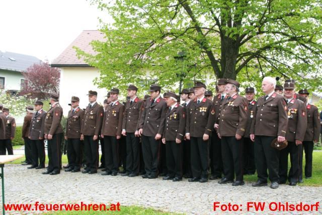 Traditionelle Florianifeier der Ohlsdorfer Feuerwehren mit Segnung