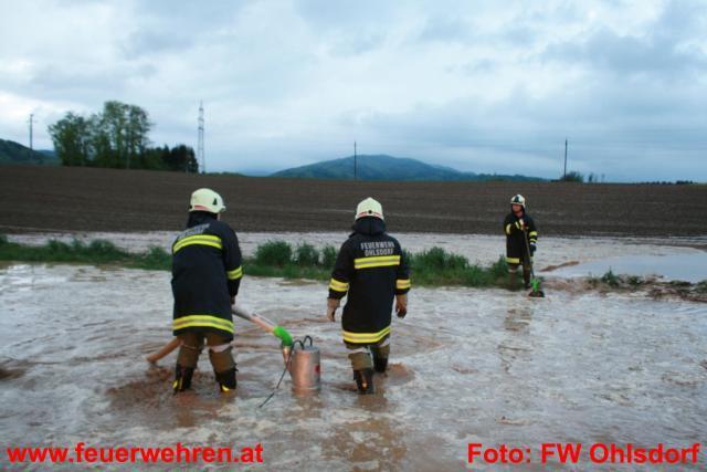 Abermals schweres Unwetter über Ohlsdorf