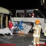 Bus kollidierte mit Straßenbahn in Grazer Innenstadt
