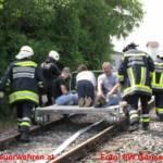 Zugsunglück - Technische Großschadensübung