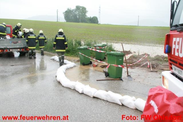 Wohnhausanlage vor Überflutung geschützt
