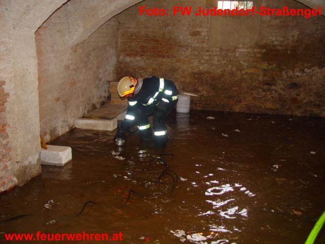 Hochwasser in Judendorf-Straßengel