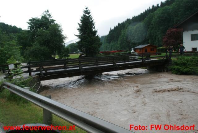 Starkregen in Ohlsdorf