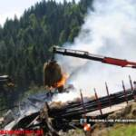 Bauernhaus in Kirchberg abgebrannt