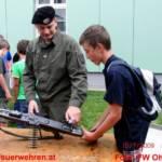 Ohlsdorfer Jugend beim 6. Bezirke Jugendlager