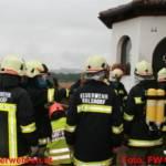 Wohnhausbrand durch Jugendlichen mit Feuerlöscher eingedämmt