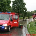 Überflutungseinsatz nach Starkregen