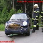 Schwerer Verkehrsunfall auf der L302 in Judendorf-Straßengel
