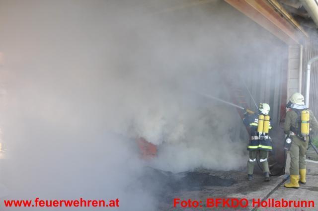 Silobrand in Pfaffstetten/Ravelsbach