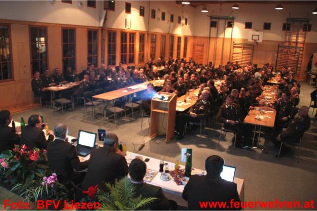 Kommandantentag des Bezirkes Liezen in Tauplitz