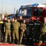 Fahrsicherheitstraining der Feuerwehr Ohlsdorf in Marchtrenk