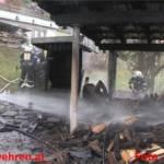 3 Feuerwehren vereitelten Großbrand in Ramsau-Leiten