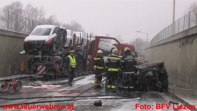 Schwerer Verkehrsunfall bei Stainach forderte 2 Tote und 4 Verletzte