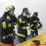 Atemschutzleistungsprüfung im Abschnitt Gmunden