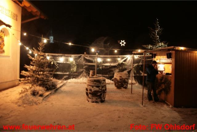 Punschhütte bei der FF Ohlsdorf war voller Erfolg