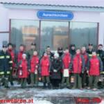 Friedenslichtverteilung durch die Feuerwehrjugend