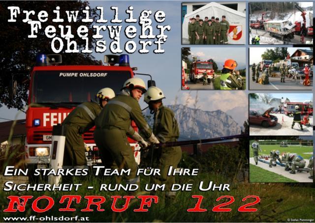 135 Einsätze im Jahr 2010 - Feuerwehr Ohlsdorf zieht Bilanz 1
