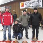 Florianijünger bei der Ohlsdorfer Birnstockolympiade
