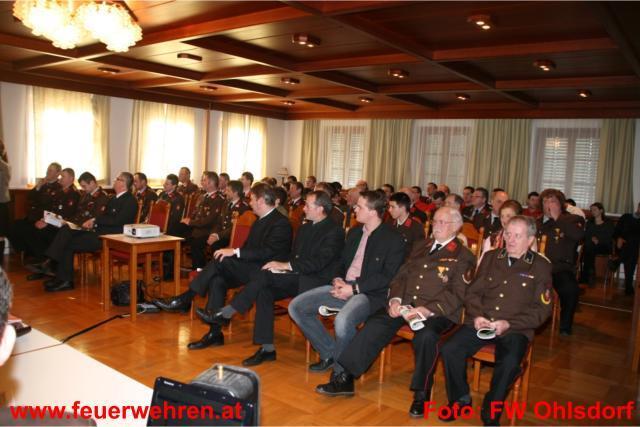 116. Jahresvollversammlung der FF Ohlsdorf