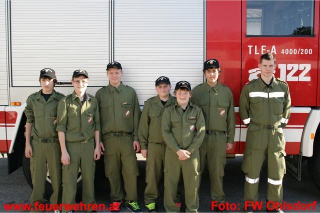 Erfolgreicher Wissenstest für die Feuerwehrjugend