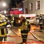Wohnhausbrand mit vermuteter Menschenrettung