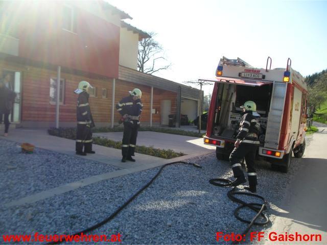 Balkonbrand im Ortsgebiet von Gaishorn am See