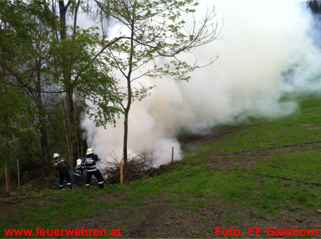 Waldbrand Gaishorn/See