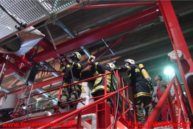 Maschinenbrand in Ohlsdorfer Gewerbebetrieb