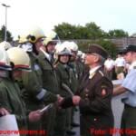 Wasserwehr- und Feuerwehrleistungsabzeichen in Gold