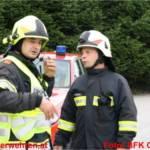 Großübung in Entsorgungsbetrieb - 300 Einsatzkräfte übten den Ernstfall