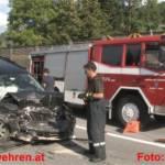 Frontalkollision bei Haus im Ennstal (B320) fordert 6 Verletzte