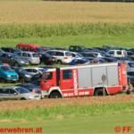 Spektakuläre UE von FF und OÖ Landesrettungsflugwacht in Ohlsdorf