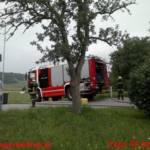 Großer Atemschutzeinsatz bei Glimmbrand in Tischlerei-Silo