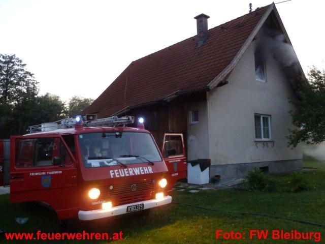 Feuerwehrkameradin in Not