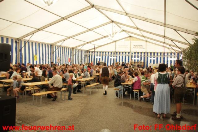 Zeltfest der FF Ohlsdorf regelrecht gestürmt