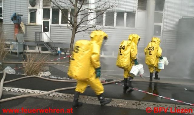 Chemieunfall in Trieben