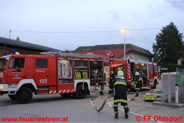 Pflichtbereichsübung im Lagerhaus Ohlsdorf