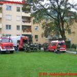 Wohnungsbrand Rosegger Allee